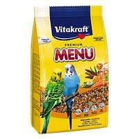 Корм Vitakraft Menu для волнистых попугаев, 1 кг, 21444