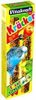 Крекер для хвилястих папуг Vitakraft, фруктовий, 2 шт