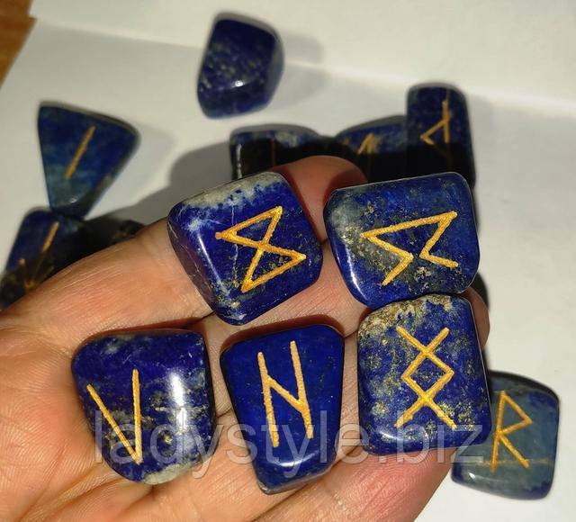 руны из натуральных камней гадание сувенир подарок карты таро набор для предсказаний