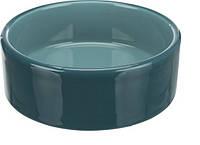 Миска керамическая для кота Trixie, 0.3 л / ø 12 см, 24365 бирюзовая
