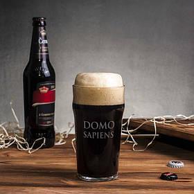 """Бокал для пива """"Domosapiens"""""""