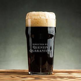 "Бокал для пива ""Quentin Quarantino"""