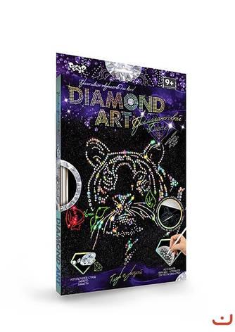 Набор для креативного творчества DIAMOND ART Тигр MiC (DAR-01-09), фото 2