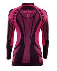 Женская термокофта Sesto Senso Active XL Розовая (sns0068), фото 2