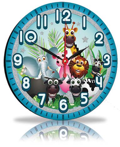 Настенные часы Декор Карпаты Голубой (25-93), фото 2