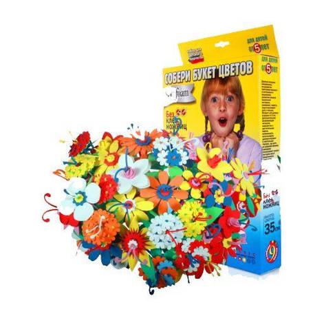 Набір для творчості Букет квітів 9 штук MiC (380), фото 2