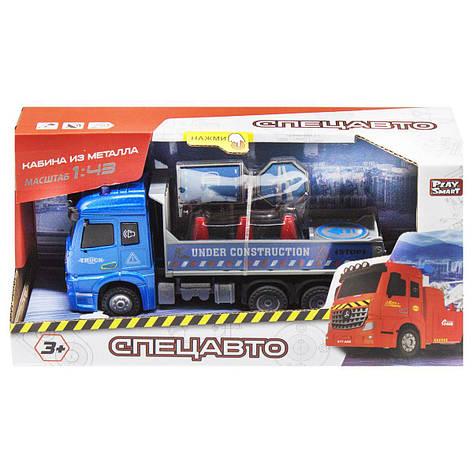 Машинка Спецавто синій MiC (6693), фото 2