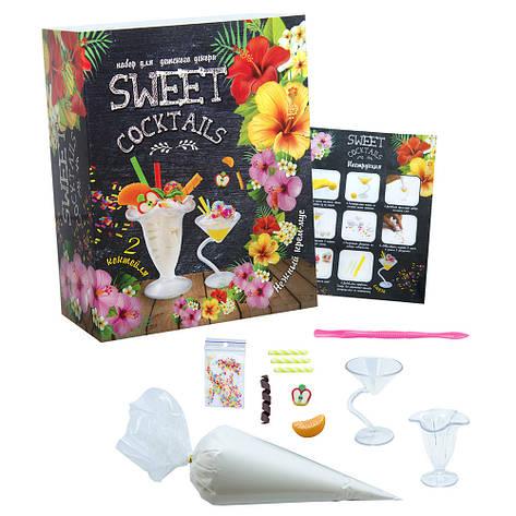 Набор для декора с муссом для лепки Sweet Coctails Strateg (71848), фото 2