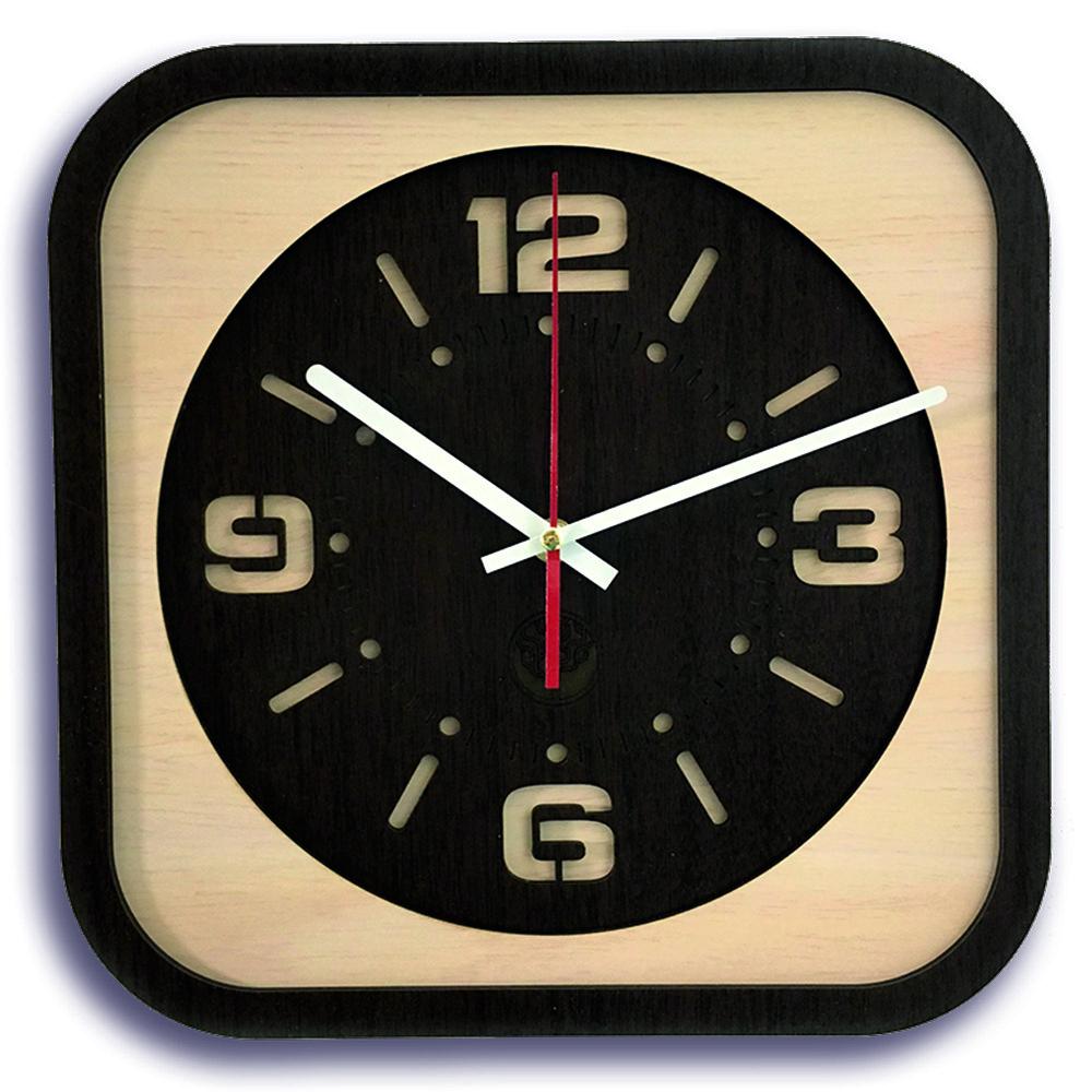 Настінні годинники Декор Карпати Loft Коричневий (UGT013B)