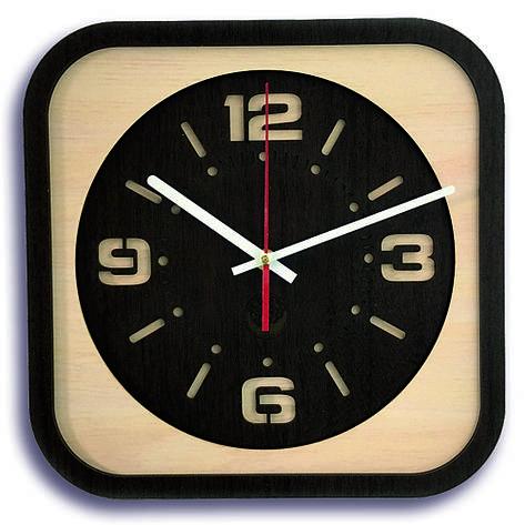Настінні годинники Декор Карпати Loft Коричневий (UGT013B), фото 2