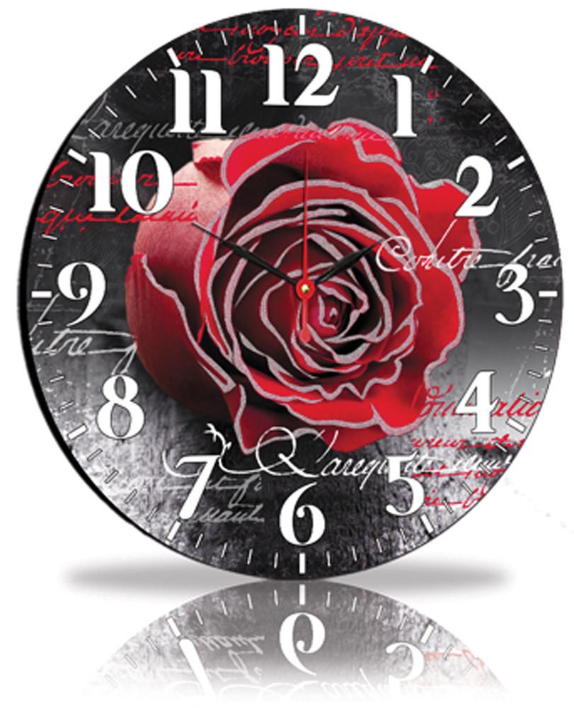 Настінні годинники Декор Карпати Чорний (45-97)