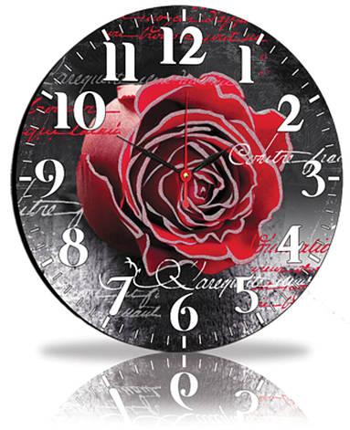 Настенные часы Декор Карпаты Черный (45-97), фото 2