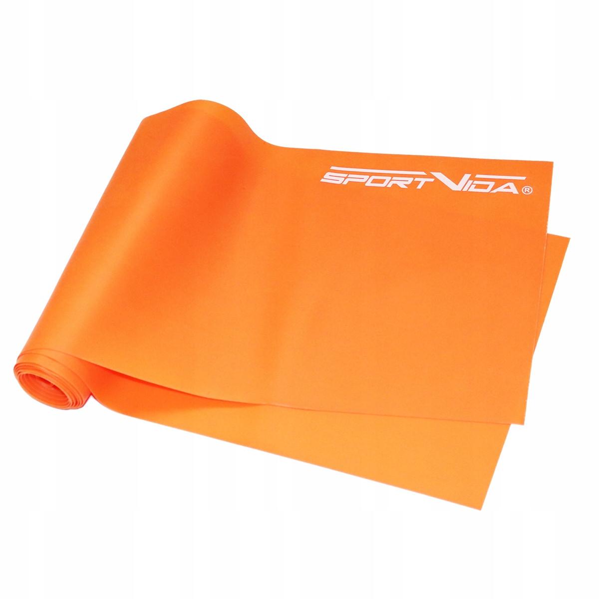Лента-эспандер для спорта и реабилитации SportVida Flat Stretch Band 200 х 15 см 5-10 кг SV-HK0185