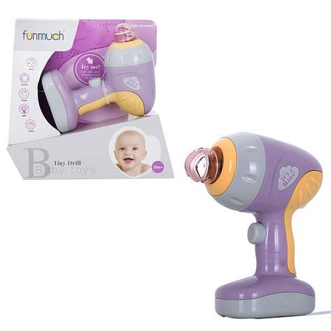 Музыкальная игрушка Дрель Funmuch (FM777-8), фото 2