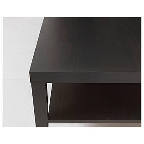 Журнальный столик IKEA LACK черно-коричневый (001.042.91), фото 2