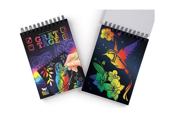 Набор для творчества Dankotoys GRATTAGE А5 (GRT-01-02), фото 2
