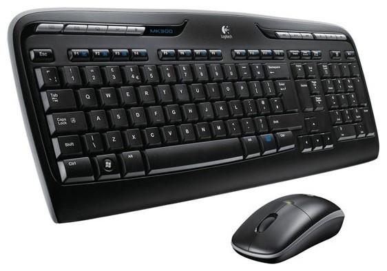 Комплект (клавіатура, миша) Logitech MK330 Wireless Desktop (920-003995)