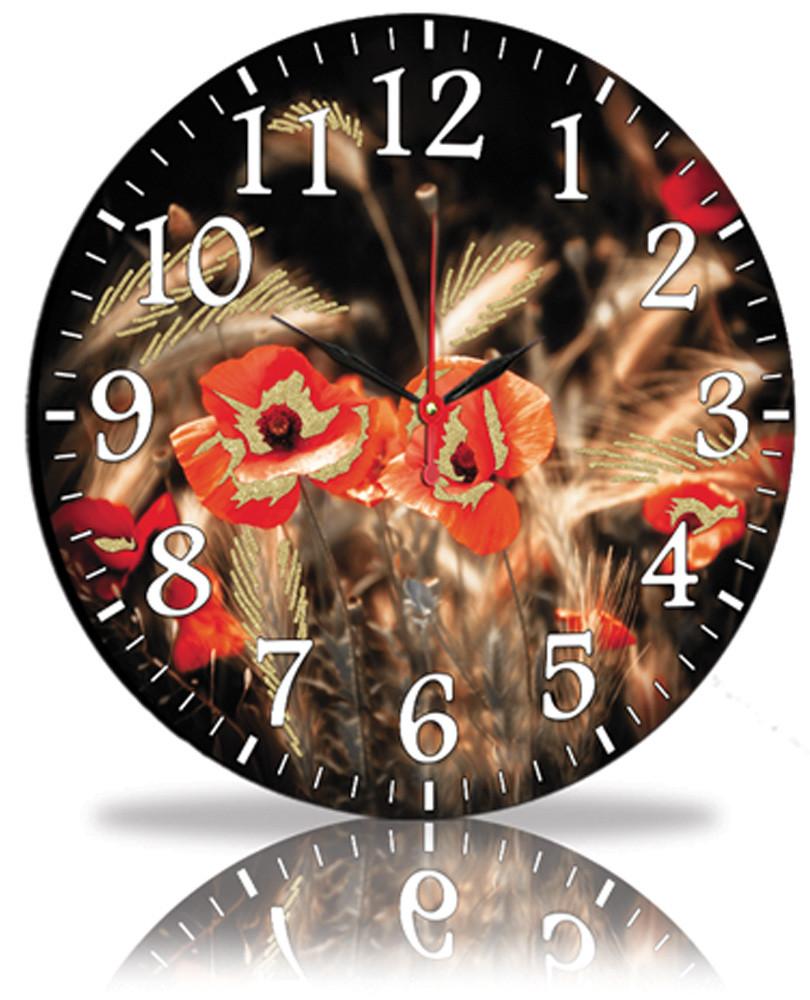 Настенные часы Декор Карпаты Маки (45-99)