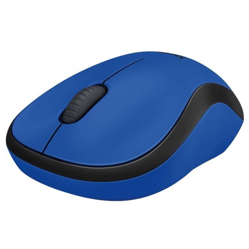 Мышь беспроводная Logitech M220 Silent (910-004879) Blue USB