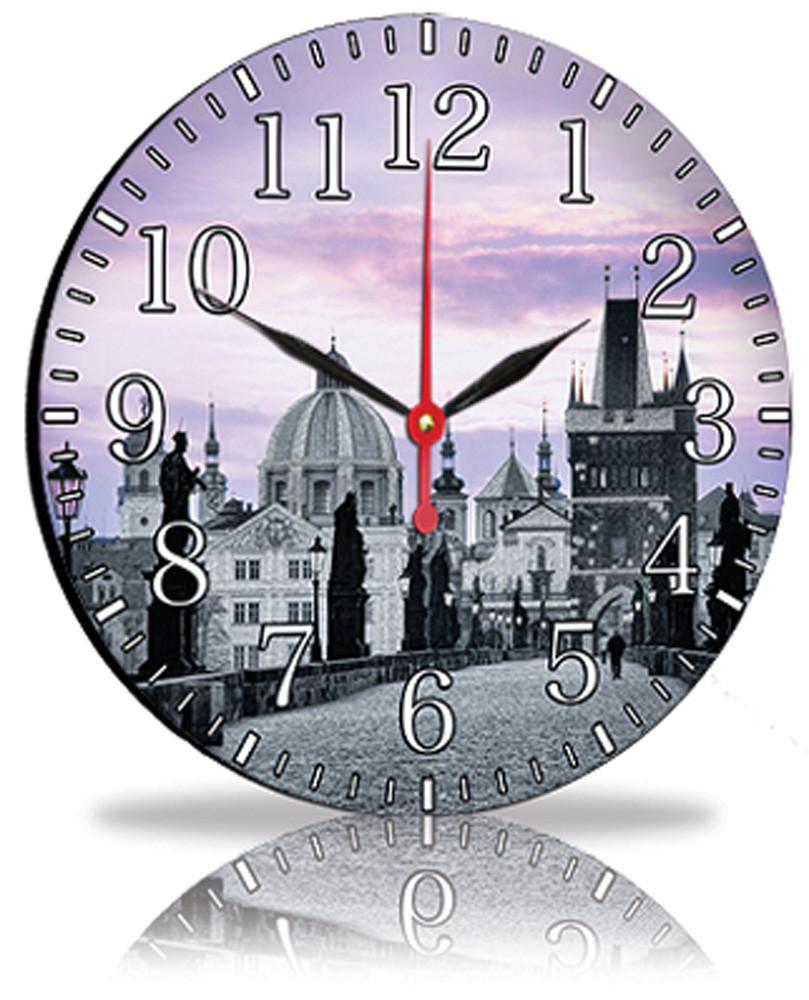 Настенные часы Декор Карпаты Город (33-71)