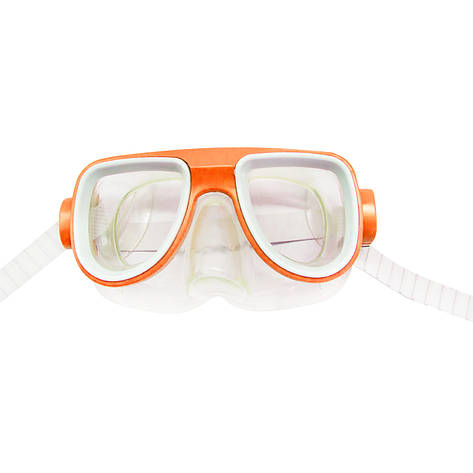 Маска для плавания оранжевая MiC (2008-1), фото 2