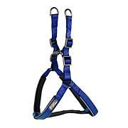 Шлея для собак TUFF HOUND 1606 Blue XL нейлоновая (5321-16616)
