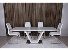 Стіл обідній Nicolas DETROIT Білий, фото 3