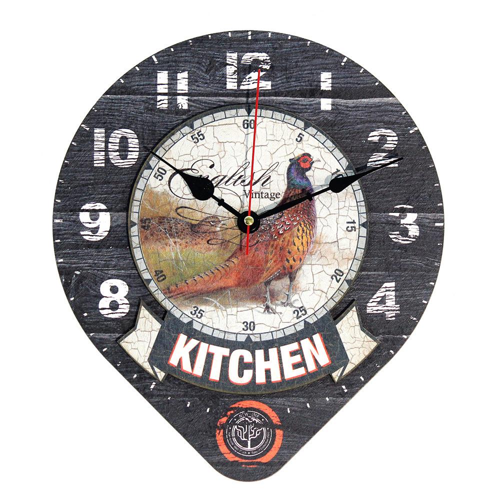 Настенные часы Декор Карпаты Drop Серый (UGT015)