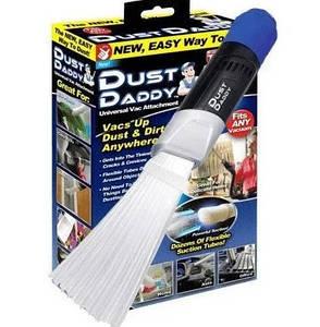 Насадка на пылесос для чистки компьютера, люстры, вытяжки, мебели Dust Daddy 7367, фото 2