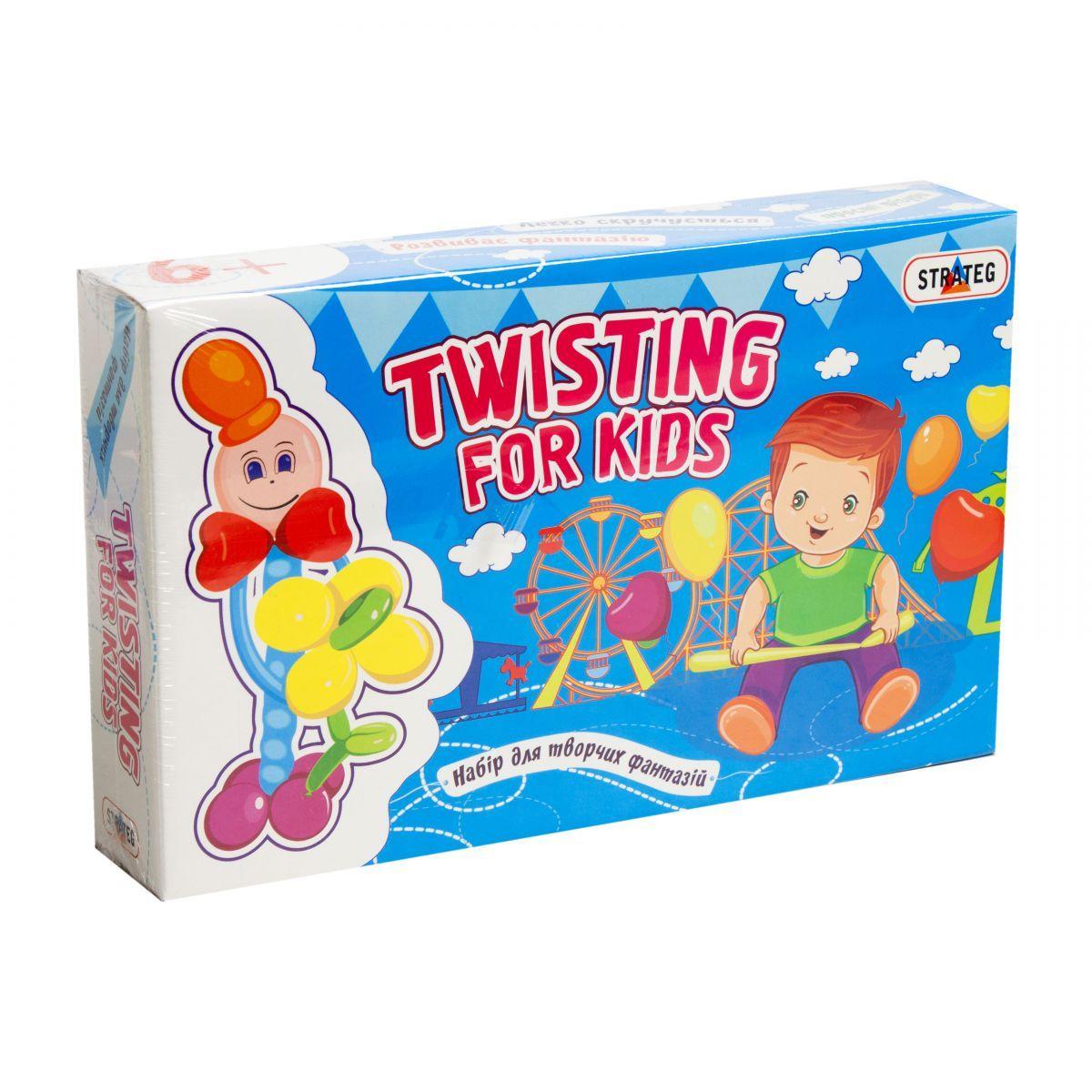 Набор для творчества из шариков Twisting Strateg (314)