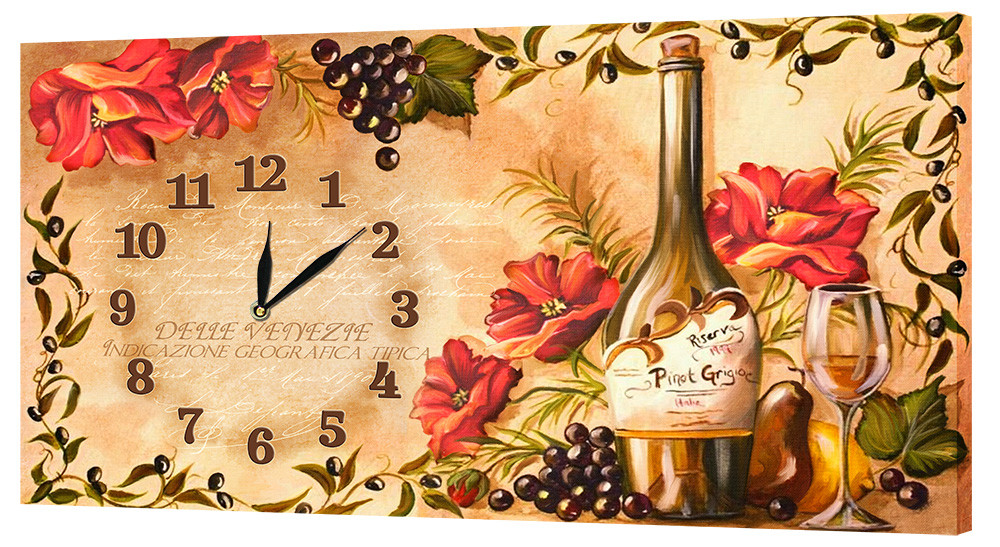 Настенные часы Декор Карпаты 53х29 (53х29-CH32)