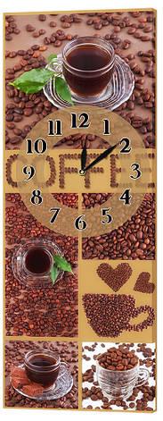 Настенные часы Декор Карпаты 29х75 Зерна кофе (29х75-ch53), фото 2