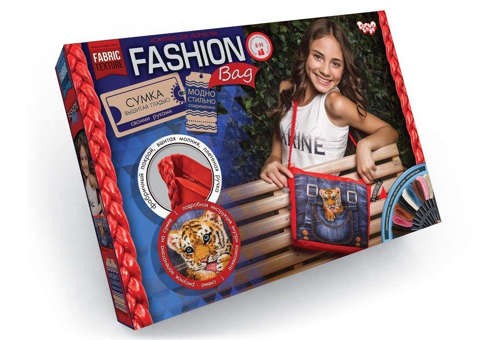 Вышивка гладью Fashion Bag Тигрёнок Dankotoys (FBG-01-03)