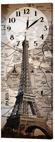 Настенные часы Декор Карпаты 29х75 Париж (29х75-ch72), фото 2