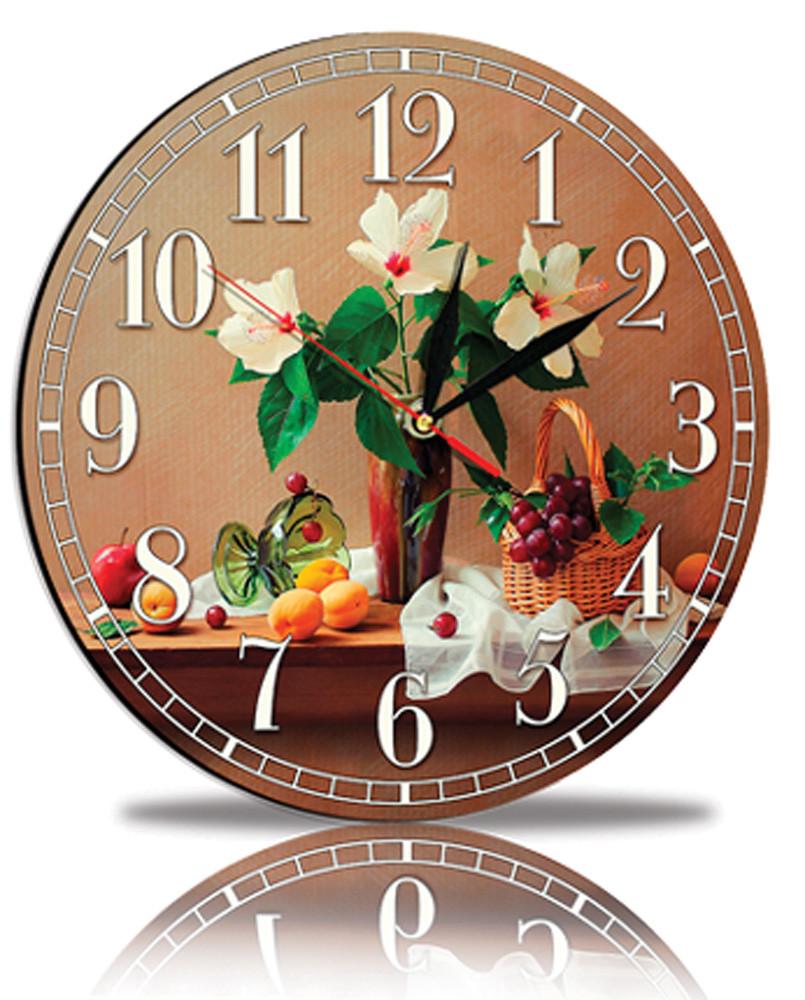 Настінні годинники Декор Карпати Коричневий (45-A2)