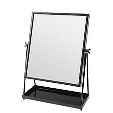 Зеркало настольное IKEA KARMSUND черный (002.949.79), фото 3