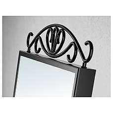 Зеркало настольное IKEA KARMSUND черный (002.949.79), фото 2