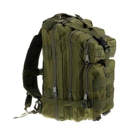 Рюкзак для походів на природу, риболовлю, полювання Molle Assault 20L Olive (006870), фото 2