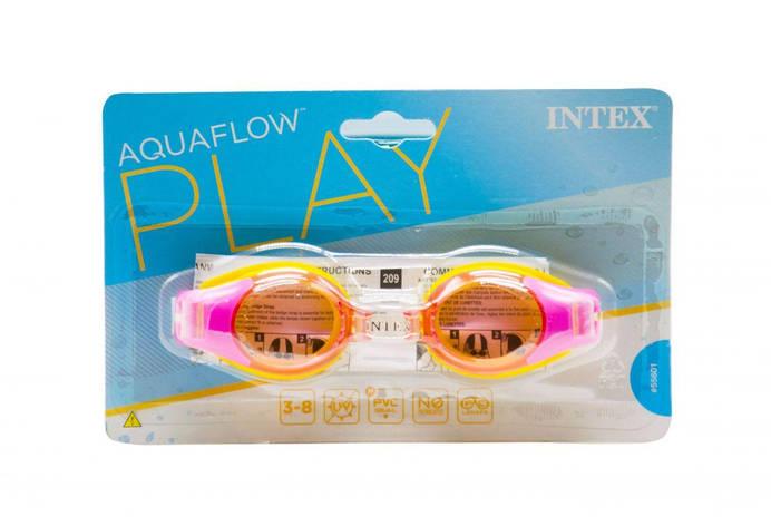 Окуляри для плавання Junior Goggles рожеві Intex (55601), фото 2
