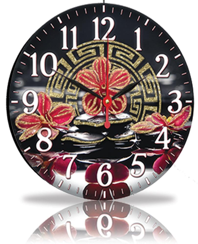 Настенные часы Декор Карпаты Черный (25-89)