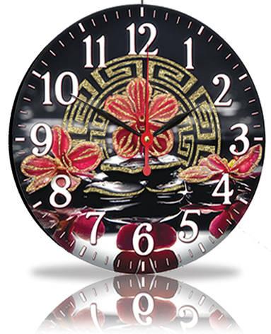 Настенные часы Декор Карпаты Черный (25-89), фото 2