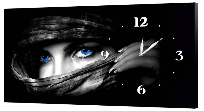 Настенные часы Декор Карпаты 53х29 Черный (53х29-ch28), фото 2