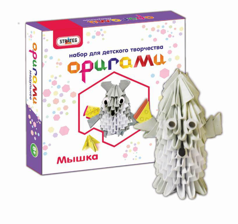 Набор для творчества Strateg Оригами Мышка (203-3)