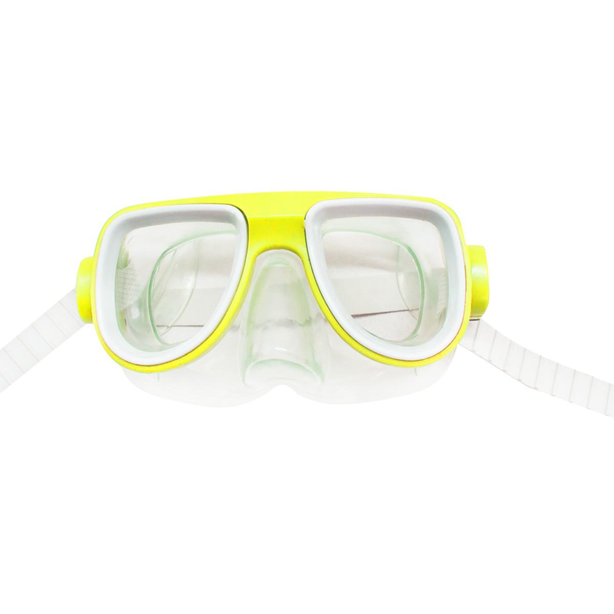 Маска для плавания желтая MiC (2008-1)