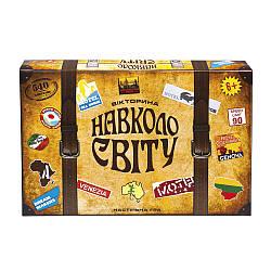 Игра настольная логическая Вокруг света на украинском языке 1202-UA, Волшебный остров