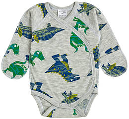 Боди-распашонка динозаврики 19295-02 Garden Baby