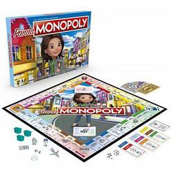 Игра настольная развивающая Мисс Монополия E8424, Hasbro