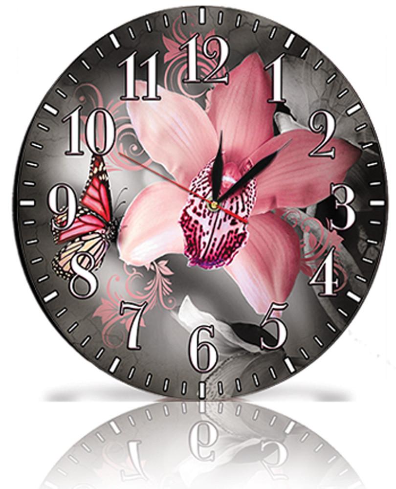 Настінні годинники Декор Карпати Сірий (25-58)