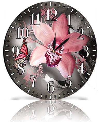 Настінні годинники Декор Карпати Сірий (25-58), фото 2