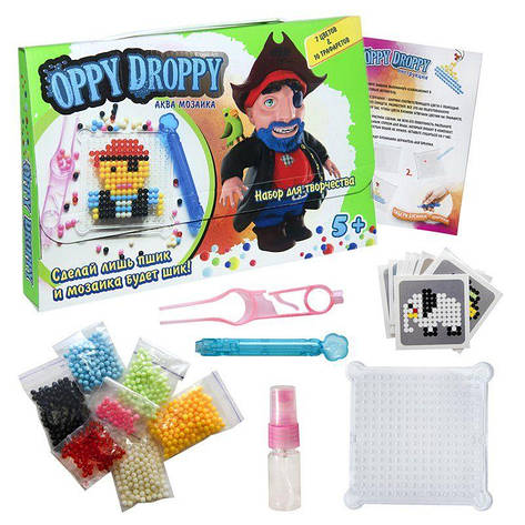 Аква мозаїка Oppy Droppy для хлопчиків Strateg (30611), фото 2
